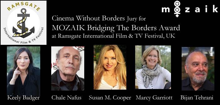 CWB Jury & nominees for Mozaik Bridging The Borders Award at 2021 Ramsgate FF