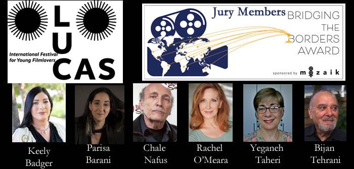CWB Jury & nominees for MOZAIK Bridging The Borders Award at 2021 Lucas FF